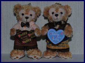 2012バレンタイン スウィートダッフィーぬいぐるみバッジなどのグッズ紹介とイベントの紹介